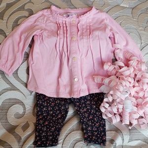 💞Ralph Lauren 3 Month Pink/Floral Outfit 💞